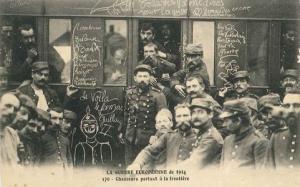 carte postale guerre 14-18